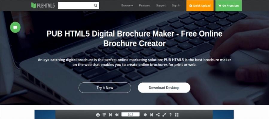 Free Online Brochure Maker Lovely 22 Free Brochure Makers for Designers
