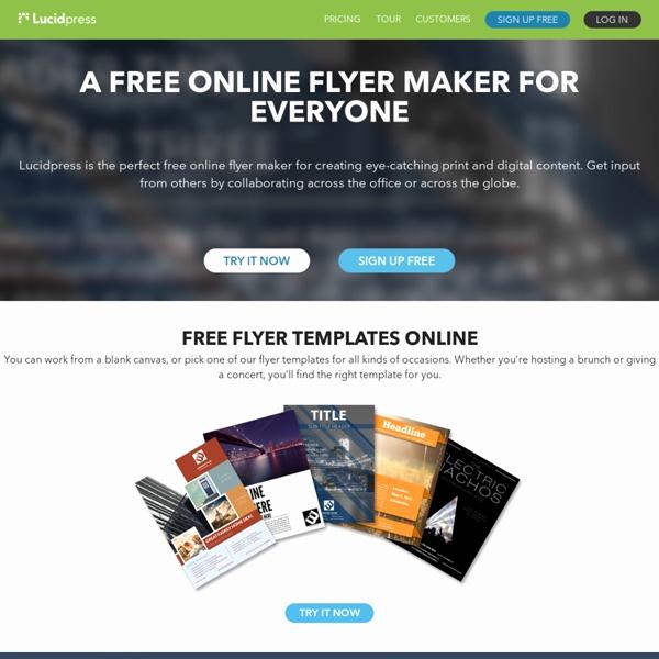 Free Online Brochure Maker Lovely Free Flyer Maker Line