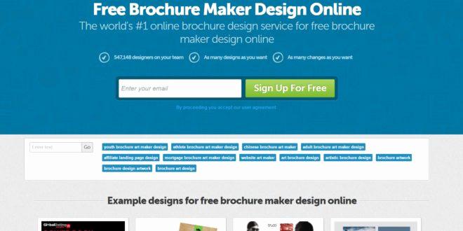 Free Online Brochure Maker Luxury 20 Best Free Line Brochure Maker tools