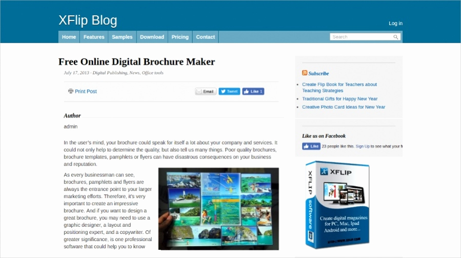 Free Online Brochure Maker New 22 Free Brochure Makers for Designers