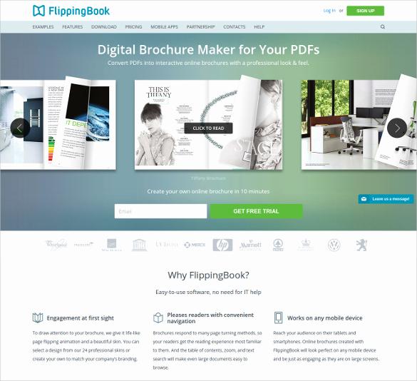 Free Online Brochure Maker Unique 17 Best Free Brochure Maker tools Wpsnow