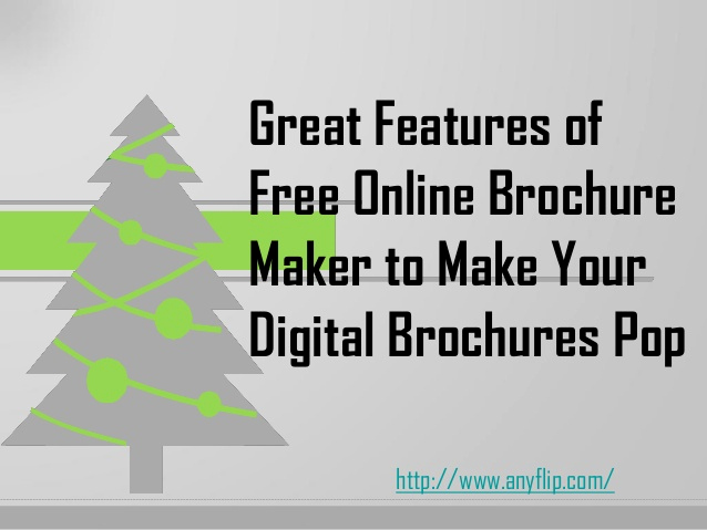 Free Online Brochure Maker Unique Great Features Of Free Online Brochure Maker to Make Your