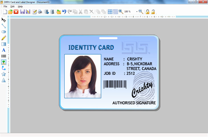 Free Online Id Card Maker Awesome Create Labels Product Sticker asset Tags Flyers Leaflets