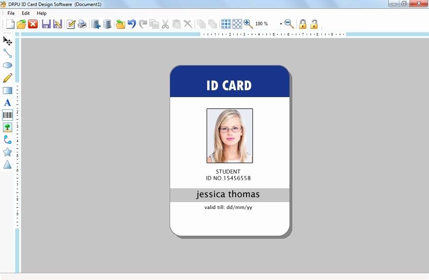 Free Online Id Card Maker Beautiful Automatic Id Card Generator Maker Creator software Free