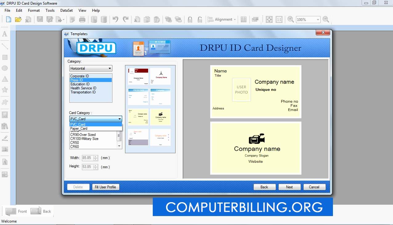 Free Online Id Card Maker Beautiful Download Id Card Creator software Castoffs