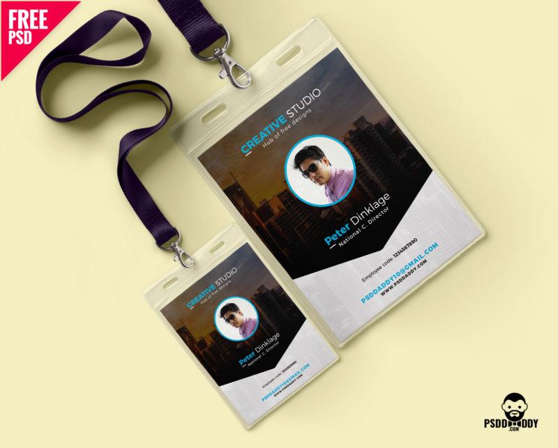 Free Online Id Card Maker Fresh [download] Free Fice Identity Card Psd