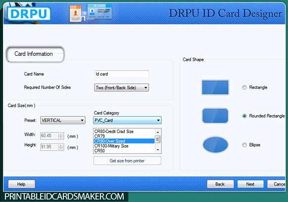 Free Online Id Card Maker Fresh Freware & Shareware Student Id Card Creator software S