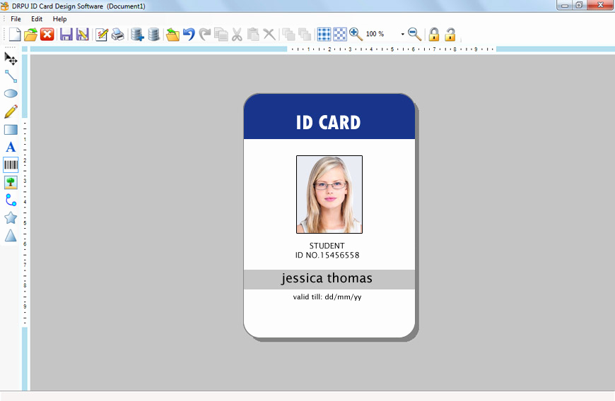 Free Online Id Card Maker Inspirational Id Maker software Creates Pany Employees Student