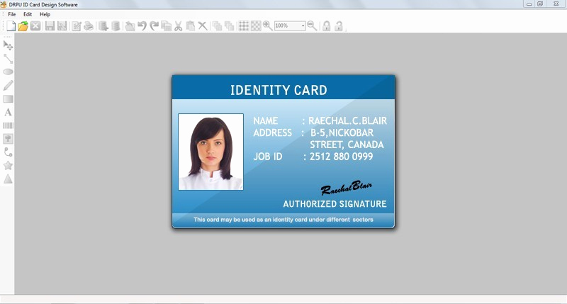 Free Online Id Card Maker New Id Card Creator Main Window Id Card Creator Barcode Id