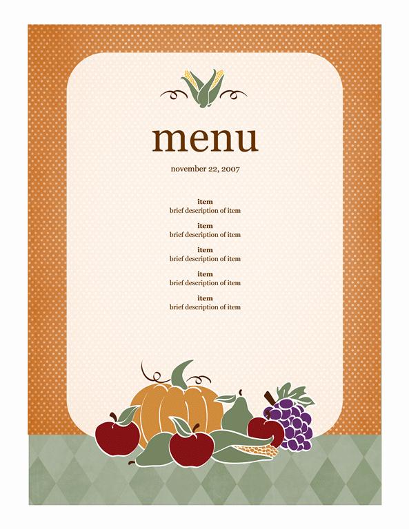 Free Online Menu Templates Elegant 21 Free Free Restaurant Menu Templates Word Excel formats