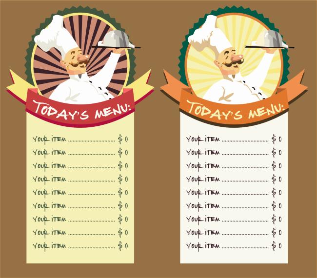 Free Online Menu Templates Luxury Restaurant Menu Template 8 Free Restaurant Menus