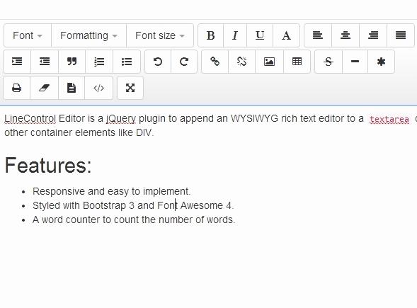 Free Online Text Editor Best Of Jquery Wysiwyg Editor Plugins