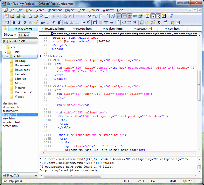 Free Online Text Editor Lovely Editplus 3 51 Free software Reviews S