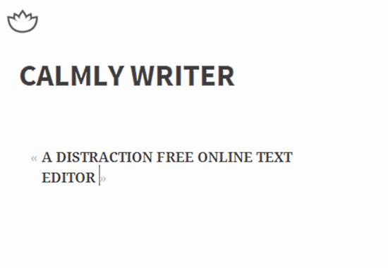 Free Online Text Editor Luxury Calmly Writer Distraction Free Line Text Editor