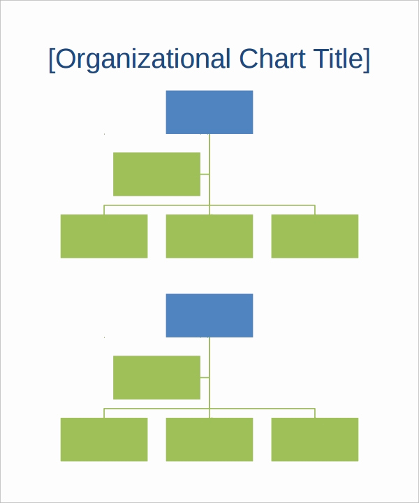 Free org Chart Template Lovely organizational Chart Template 13 Download Free