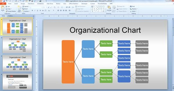 Free organizational Chart Template Fresh Free org Chart Powerpoint Template for organizational