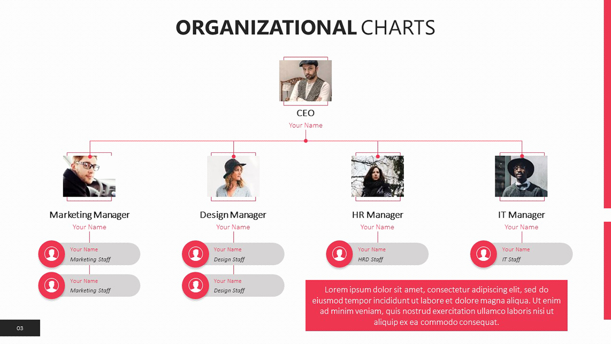 Free organizational Chart Template New organizational Chart Templates