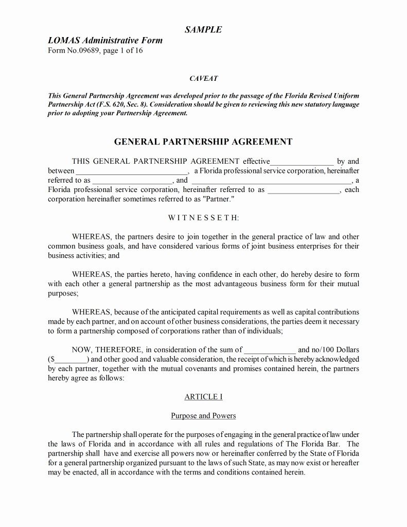 Free Partnership Agreement form New Agreement Word Templates Free Word Templates