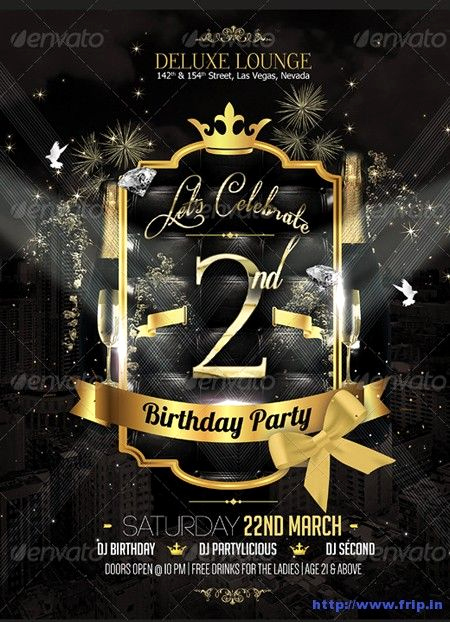 Free Party Flyer Templates Elegant 70 Best Anniversary Party Flyer Print Templates 2017