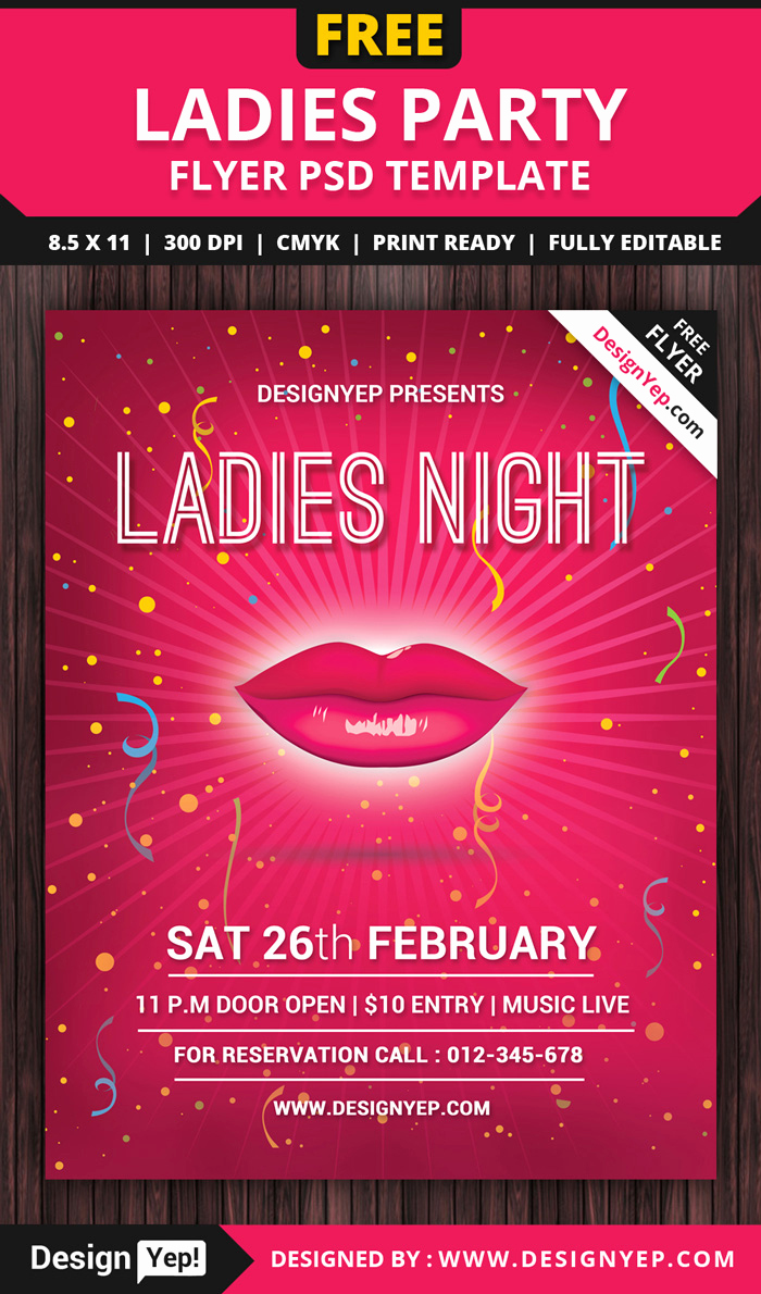 Free Party Flyer Templates Unique 55 Free Party & event Flyer Psd Templates Designyep