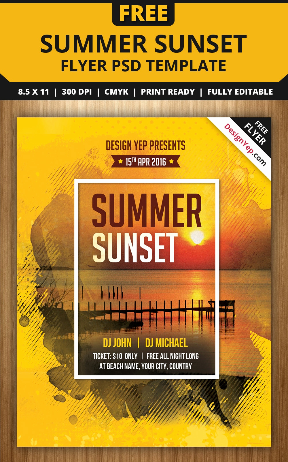 Free Party Flyer Templates Unique Free Flyer Templates Psd From 2016 Css Author