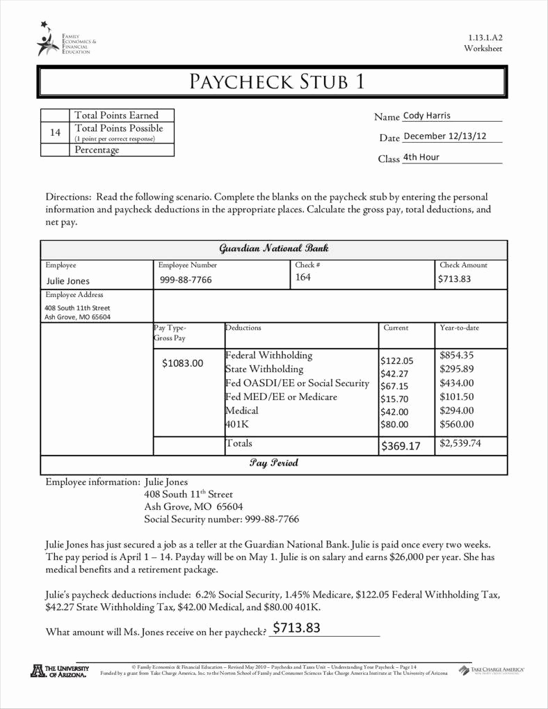 Free Paycheck Stub Template Awesome 9 Free Pay Stub Templates Word Pdf Excel format