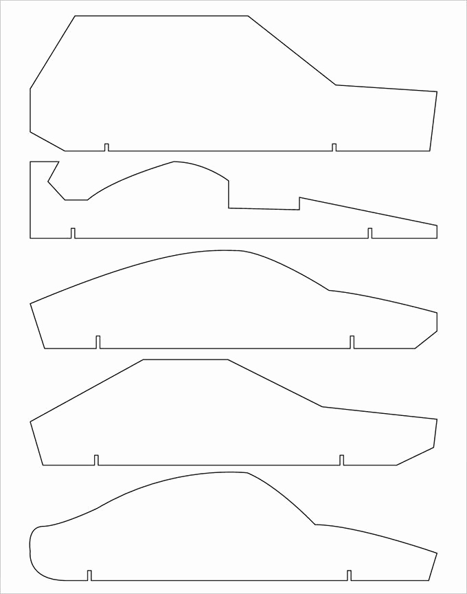 Free Pinewood Derby Car Designs Lovely 21 Cool Pinewood Derby Templates – Free Sample Example