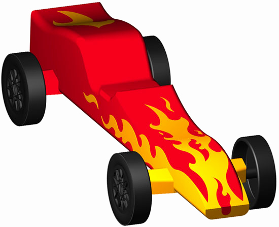 Free Pinewood Derby Car Designs New Pinewood Derby Design the Inferno Full