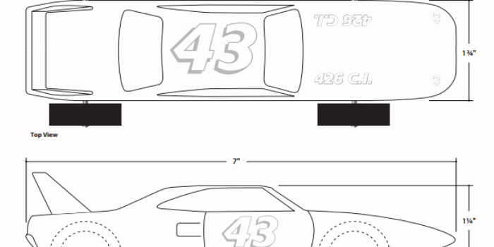 Free Pinewood Derby Car Templates Luxury 27 Awesome Pinewood Derby Templates – Free Sample
