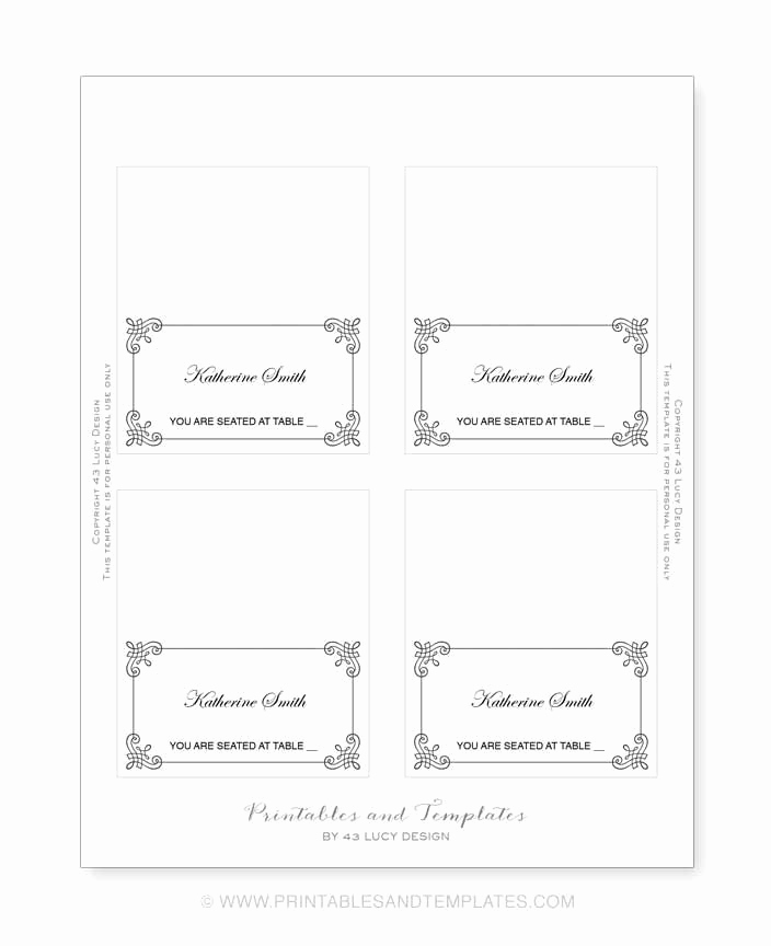 Free Place Card Template Inspirational Avery 5305 Template for Pages Full Version Free software