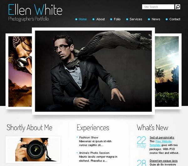 Free Portfolio Website Templates Best Of 24 Free and Premium Portfolio Website Templates