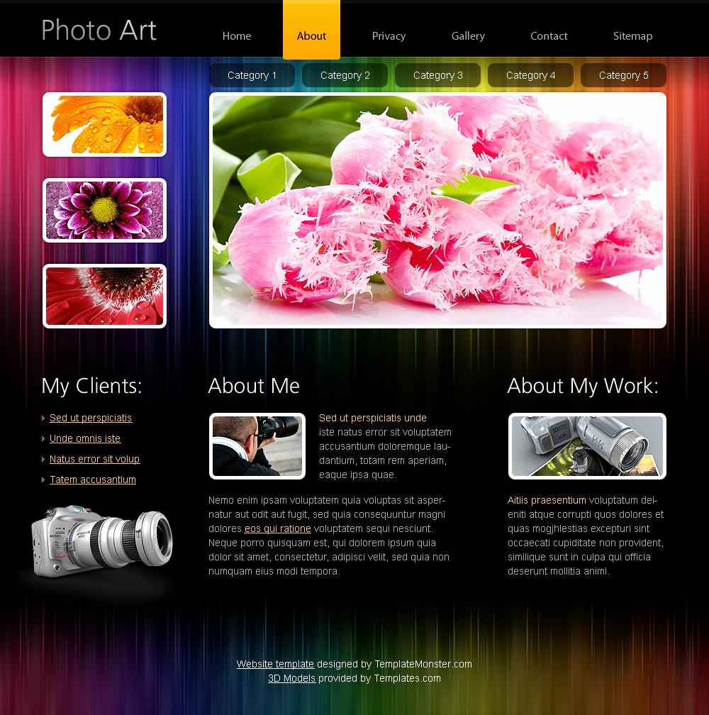 Free Portfolio Website Templates Fresh Free HTML5 Website Template Portfolio