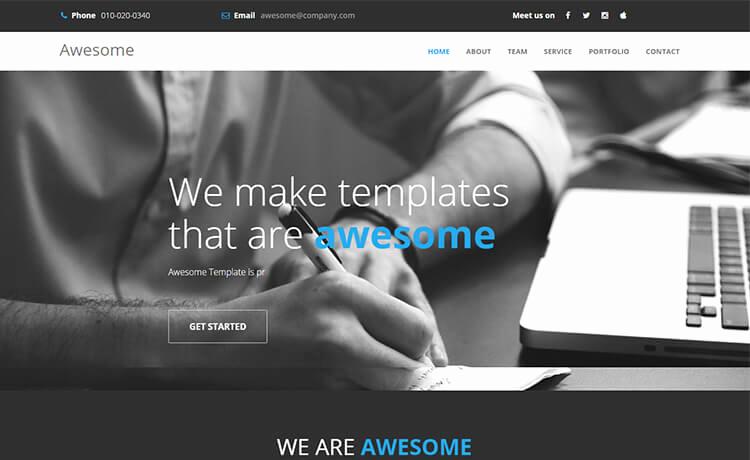Free Portfolio Website Templates Inspirational 41 High Quality Free Responsive Personal Portfolio Cv