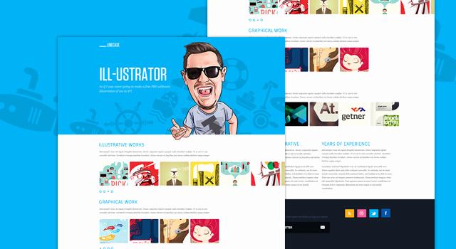 Free Portfolio Website Templates Lovely Linecase Portfolio Website Design Template Free Psd