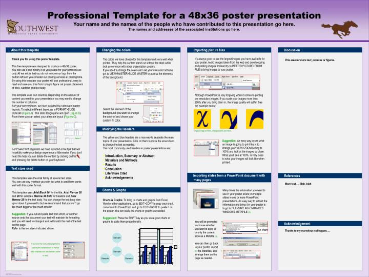 Free Powerpoint Poster Templates Inspirational Free Powerpoint Poster Templates 48x36 Yasncfo