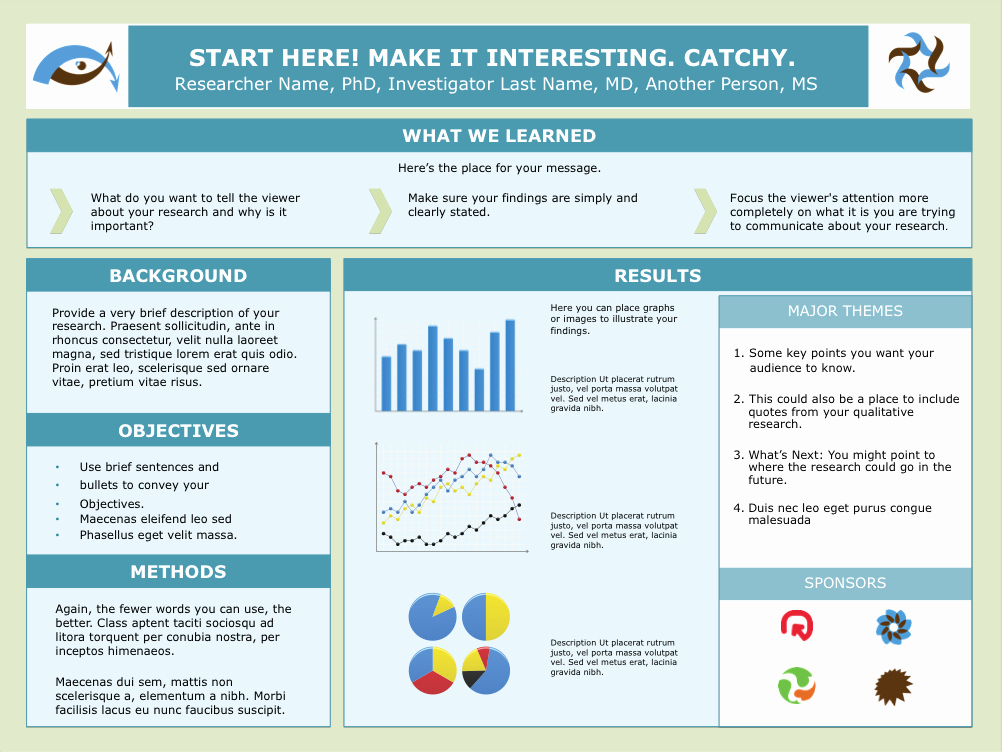 Free Powerpoint Poster Templates New Scientific Research Poster Template Google Search