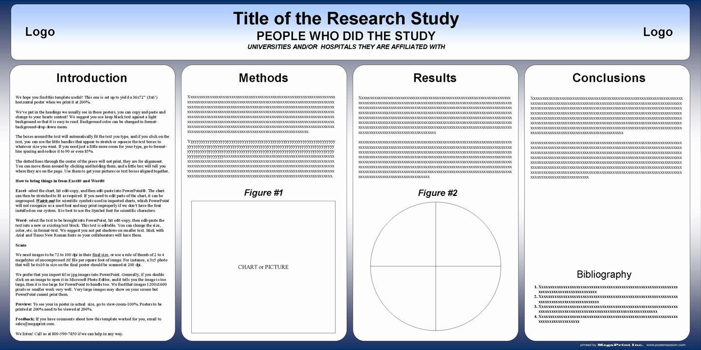 Free Powerpoint Poster Templates Unique Free Powerpoint Scientific Research Poster Templates for