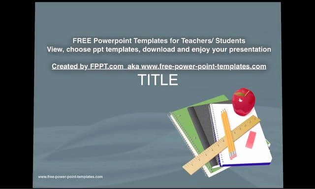 Free Powerpoint Templates for Teachers Unique Free Download Powerpoint Templates Created by Fppt for
