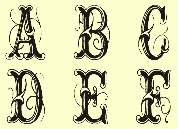 Free Printable Alphabet Stencils Fresh Free Monogram Stencils Printable Tattoo Art