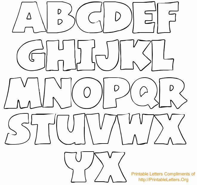 Free Printable Alphabet Stencils Fresh Free Printable Bubble Letter Stencils