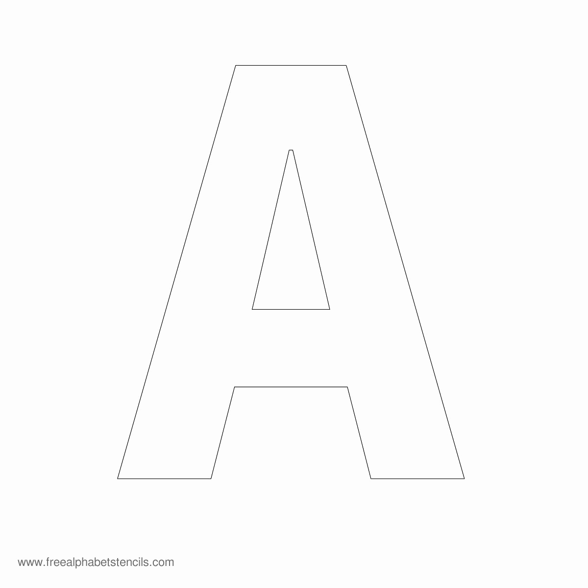 Free Printable Alphabet Stencils Templates Best Of Alphabet Stencils