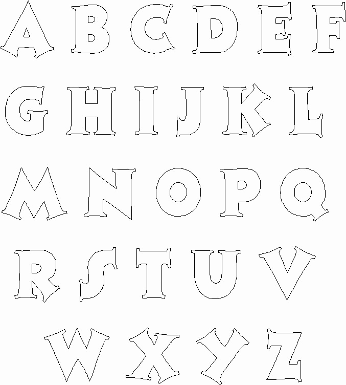 Free Printable Alphabet Stencils Templates Unique Best 25 Alphabet Templates Ideas On Pinterest
