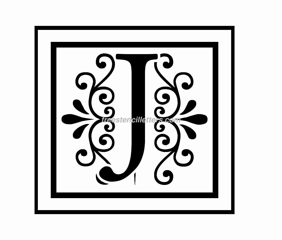 Free Printable Alphabet Stencils Unique Monogram Stencil Letters Archives Free Stencil Letters