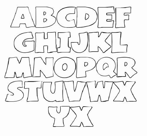 Free Printable Alphabet Templates Best Of Letter Stencils On Pinterest