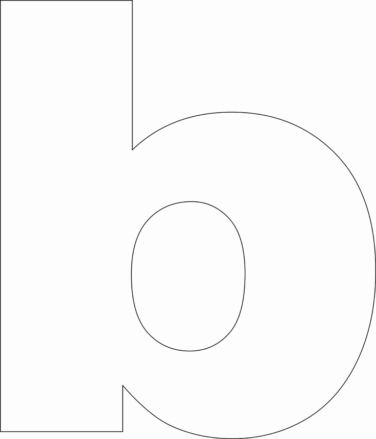Free Printable Alphabet Templates Lovely Free Printable Lower Case Alphabet Template