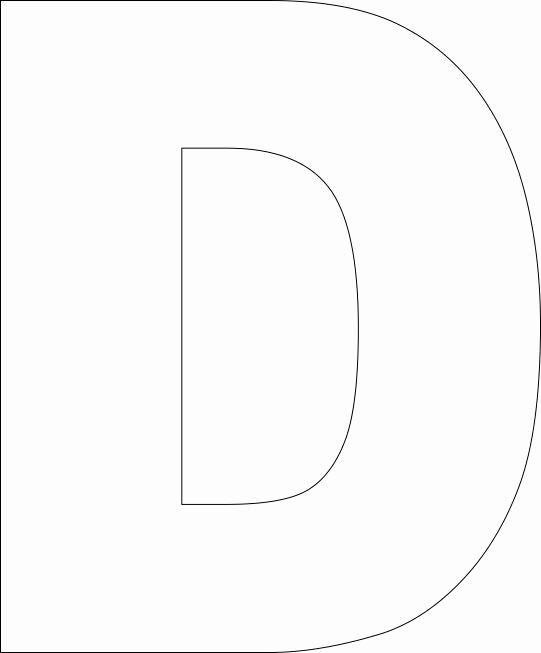 Free Printable Alphabet Templates New Free Printable Upper Case Alphabet Template