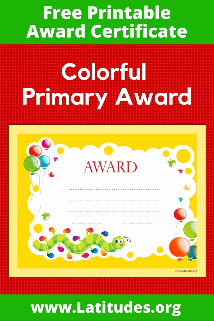 Free Printable Award Certificates Best Of 17 Images About Child & Family Resources On Pinterest