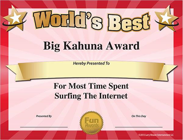Free Printable Award Certificates Elegant Free Printable Certificates Funny Printable Certificates