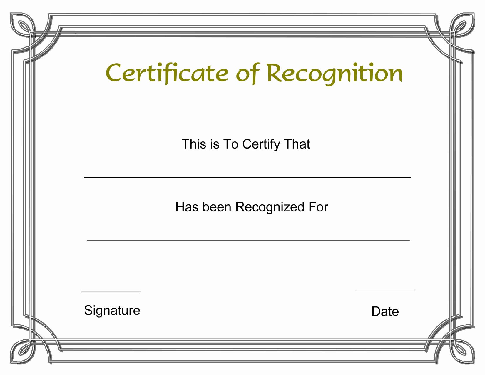 Free Printable Award Certificates Elegant Template Free Award Certificate Templates and Employee