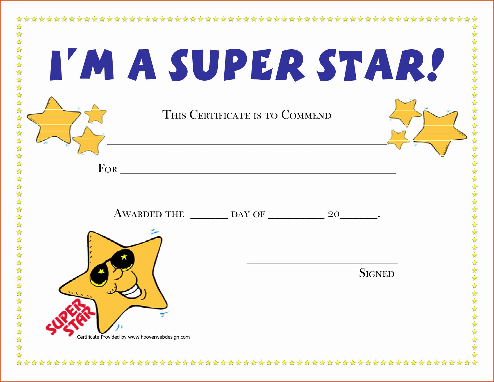 Free Printable Award Certificates Lovely Free Printable Award Certificates